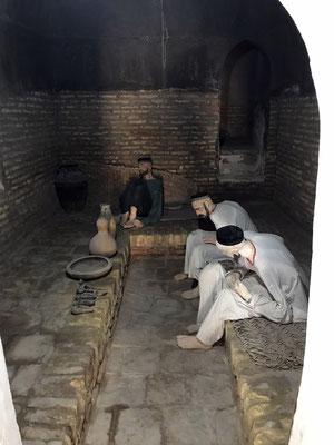 Außerhalb der Zitadelle das Gefängnis, in dem die Delinquenten auf Ihre Hinrichtung warteten.