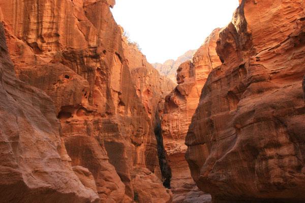 Farbschattierungen des Sandsteins