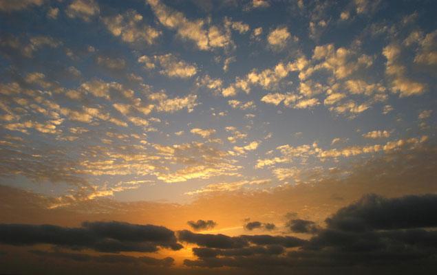 Herrliche Sonnenuntergänge runden das Bild ab