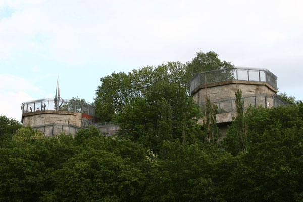 ehemalige Flugabwehrstellung mit Bunkeranlage