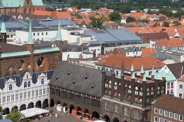 Rathaus vom Petriturm