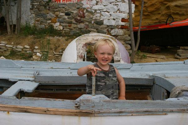 Junger Fischer