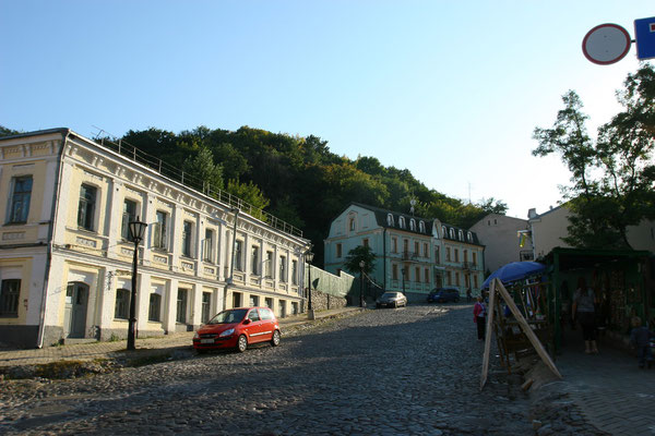Der Andreassteig mit seinen historischen Handelsquartieren.