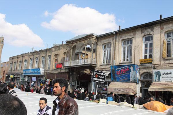 Täbriz - der große Bazar, dessen Tradition bis ins 15. Jhdt. zurückgeht, ist einer der schönsten und größten im Land