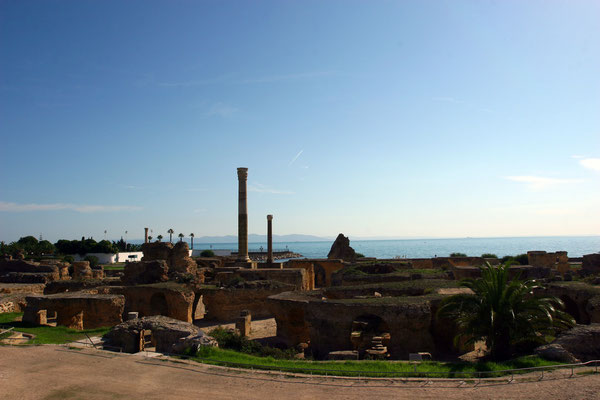 Thermen des römischen Karthagos unter Kaiser Antonius Pius aus dem 2. Jhdt.