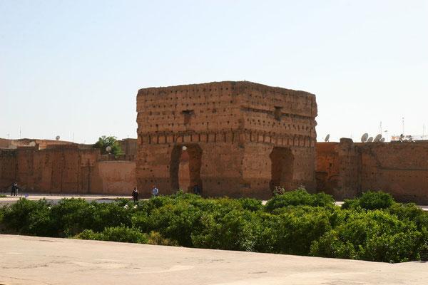 Palais el-Badi, erbaut von Moulay Ahmed el-Manso