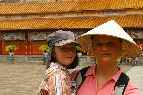 Auf dem Hof der Feierlichkeiten standen seinerzeit die Mandarin