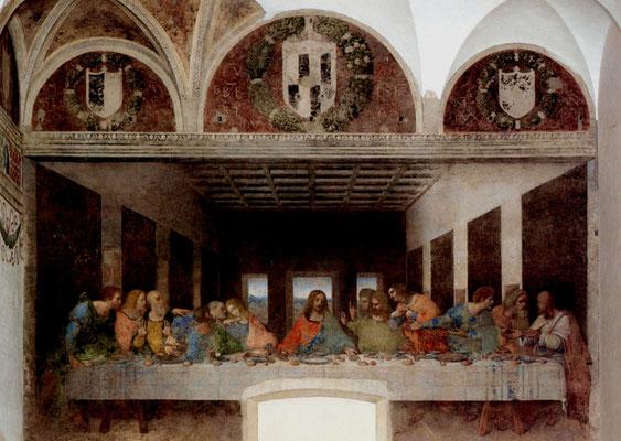 Im Zweiten Weltkrieg zerstört wurde dieses einmalige Gemälde nach 50 Jahren Restaurierung wiederhergestellt