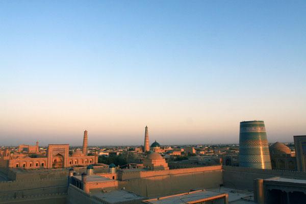 Der abendliche Panoramablick über die Festung entschädigt für die Mühe, sich die vielen Stufen hochzuquälen.