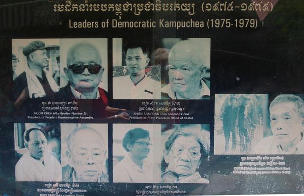 Die Schlächter um den psychopatischen Pol Pot. Tatsache ist, dass auch Deutschland dieses Regime als offizielle Staatsmacht Kambodschas anerkannt hat.