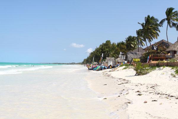 Auch hier wieder Strand vom Feinsten