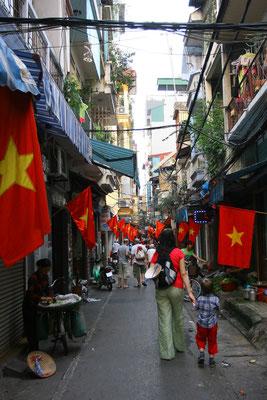 Alt-Hanoi: Kein Tourist kommt an der Altstadt vorbei mit seiner Handwerkervierteln, die sich seit dem 11. Jhdt. gebildet haben.
