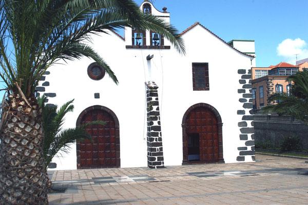 Kirche Iglesia Matriz de El Salvador, Baubeginn Anfang des 16. Jahrhunderts,