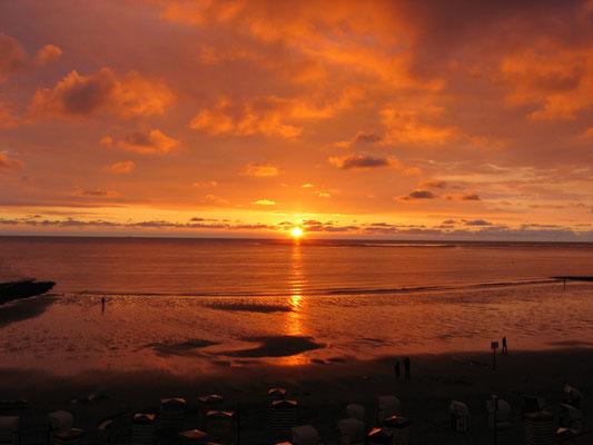 was wäre ein Urlaub ohne ein Foto eines Sonnenuntergangs