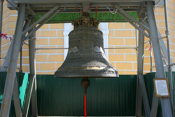 Die große Turmglocke blieb als einziges im Original erhalten