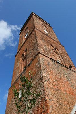 Der alte Leuchtturm von 1817 ist bis heute das Wahrzeichen der Ostfriesischen Inseln