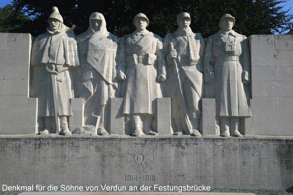 Denkmal zu Ehren der einzelnen Waffengattungen