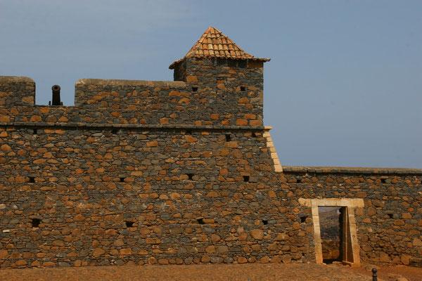 Cidade Velha - frühere Hauptstadt seit 1461 mit der Befestigungsanlage Fortaleza Real de Sao Filipe