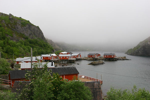 Die meisten Hütte (Rorbuers) stammen aus dem 19. Jhdt., wurden restauriert und vielfach in Ferienquartiere verwandelt