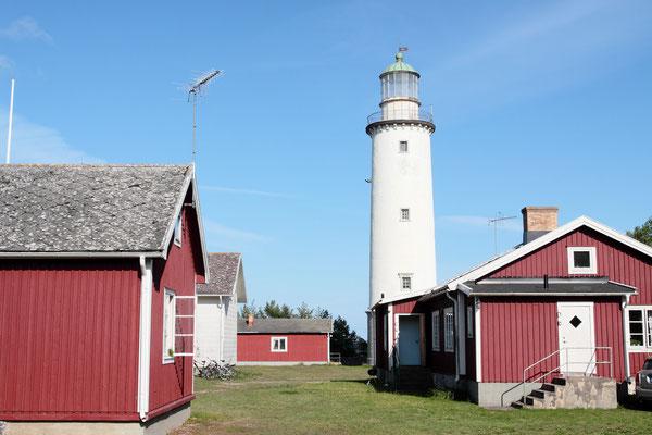 Ein weiteres Highlight von Farö ist der Leuchtturm von 1882