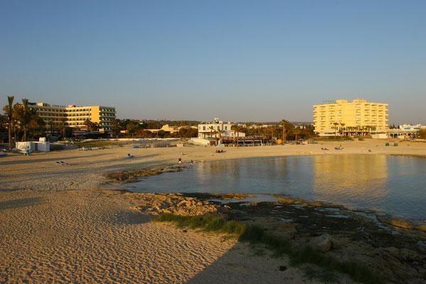 Unser schöner Strand Anonymus Beach  in Agia Napa für erholsame Tage