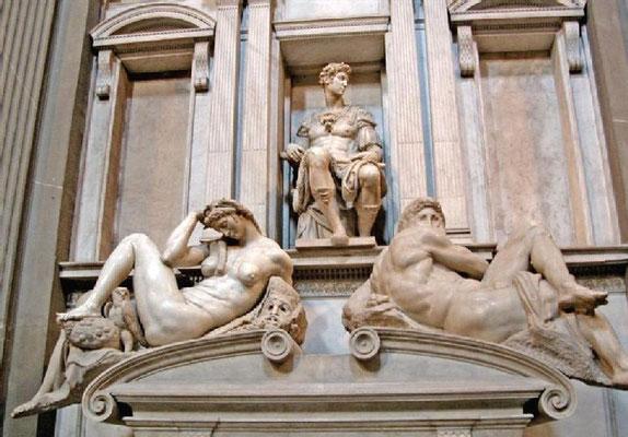 Grab eines Medici in der Basilika di San Lorenzo