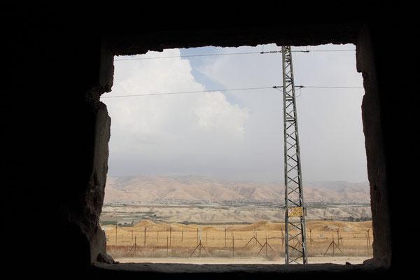 Minenfelder an der Grenzlinie