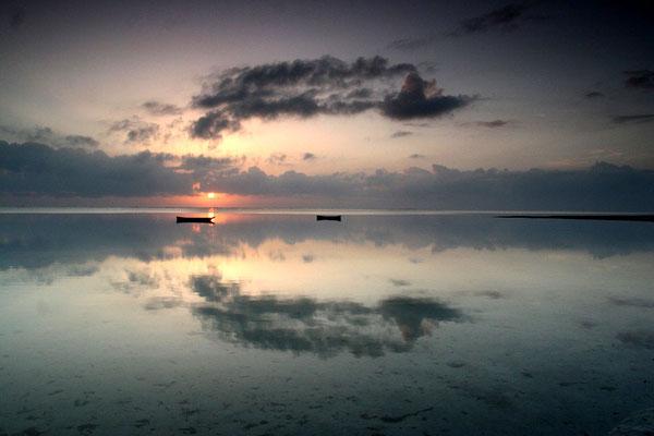 Morgenromantik am Indischen Ozean