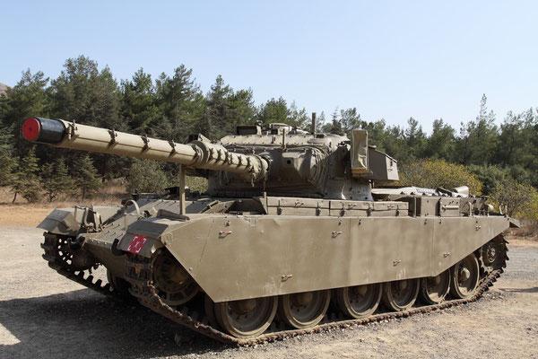 """""""Centurion""""-Panzer der israelischen Armee"""