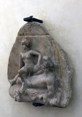Aufgrund der Vielzahl der Freudenhäuser in Pompeji blieben auch viele erotische Skulpturen erhalten.