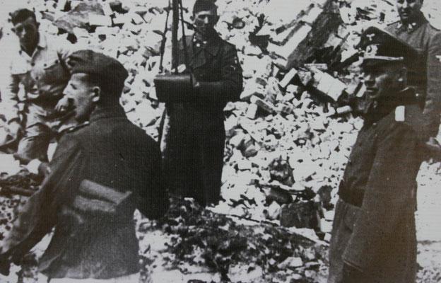 1941 wurde das Kloster von der deutschen Wehrmacht gesprengt