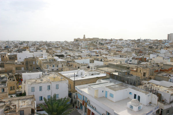 Blick über die Medina auf die Kashba