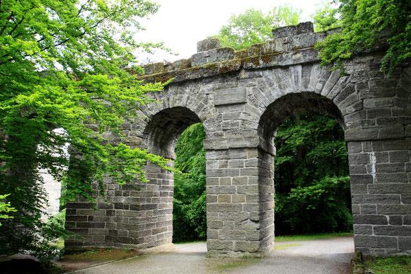 Teile des Aquädukts