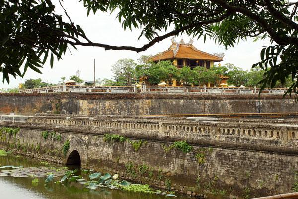 Teil der 10 km langen Stadtmauer und Grenze des Palastbezirks