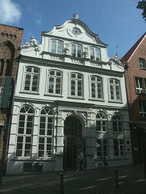 Das berühmte Buddenbrookhaus - Handelskontor