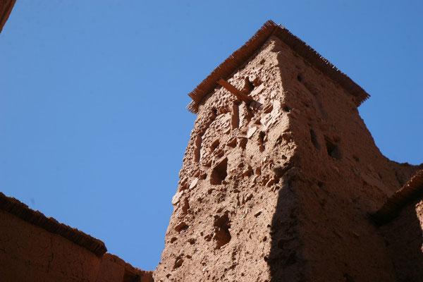 Heftige Regenfälle setzen dem Bauwerk immer stark zu und es bedarf ständiger Renovierung durch die UNESCO
