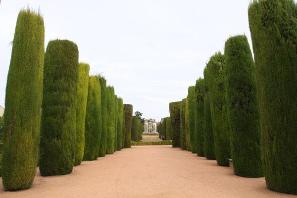 Alle Palastgärten Andalusiens befinden sich in einem hervorragenden Pflegezustand.