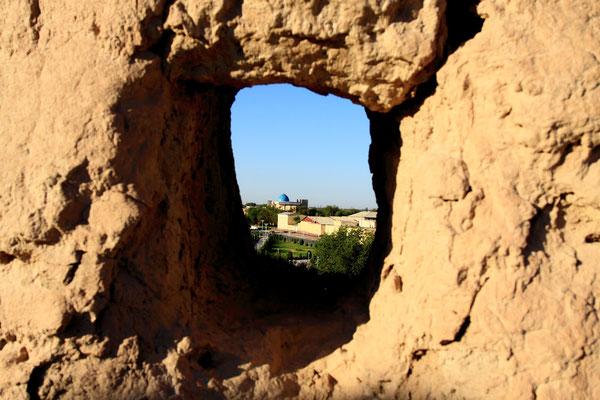 Es wurden hier keinerlei Restaurierungsarbeiten vorgenommen, daher sind die Bauwerke innerhalb der Festung nur noch erahnbar.