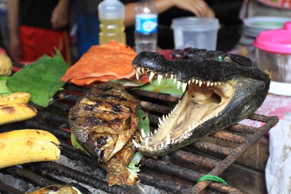 Nichtsdestotrotz gehört Iquitos auch heute zu den ärmsten Städten Perus und dementsprechend wird natürlich auch versucht, mit allem Geld zu machen, was nur geht.
