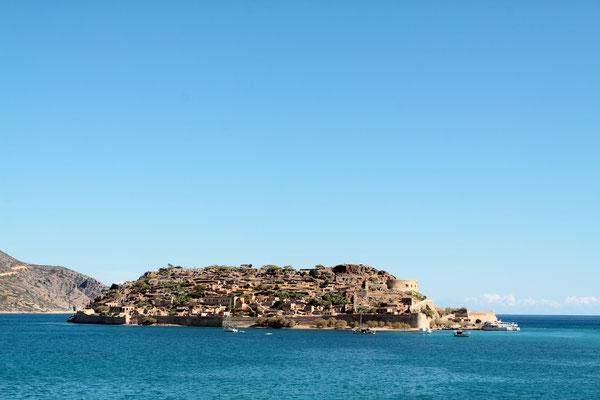 Insel Spinalonga-früherer Verbannungsort für Leprakranke
