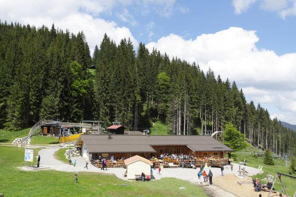 Familienspaß auf dem Kolbensattel in den Ammergauer Alpen