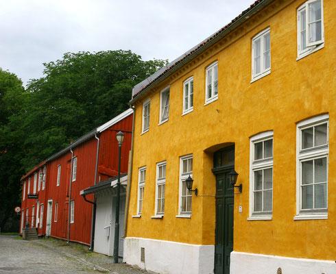 historische Gebäude im Zentrum