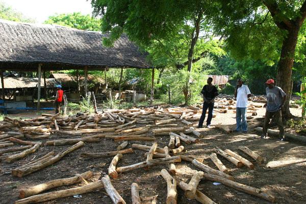 Holzverarbeitende Cooperative zur Fertigstellung von Kleinmöbeln und Figuren