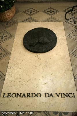 Das Grab Leonardos