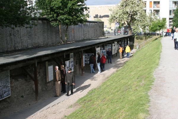 kleines open-air Museum auf dem Gelände der Alten Reichskanzlei