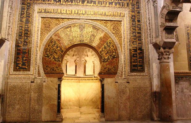 Sie galt als das erste arabische Monument der westlichen Welt.