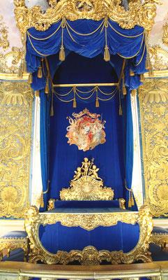 das königliche Schlafgemach
