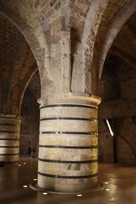 Die Zitadelle mit den Zisternen und Rittersälen ist die herausragende Sehenswürdigkeit von Akko.