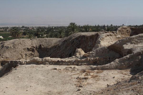 Reste der alten Stadtmauer aus der Zeit um 2.500 v. Chr.