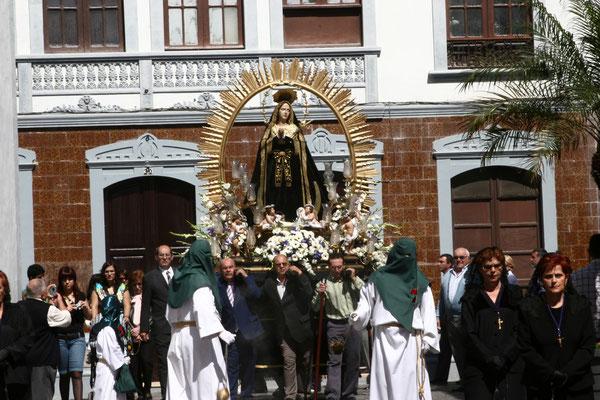 die schwarze Madonna Virgen de la Candelaria,